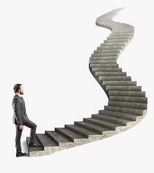 Step By Step Toward A Successful Businessman PNG