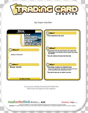 Template Microsoft Word Collectable Trading Cards Playing Card Pokémon Trading Card Game PNG