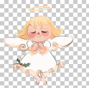 Watercolor Painting Angel PNG
