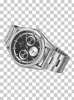 Silver Watch Strap Metal Titan Company PNG