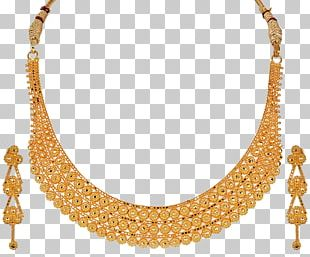 Necklace Gold Jewellery Jewelry Design Designer PNG