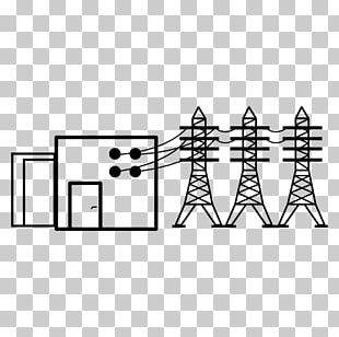 Overhead Power Line Computer Icons Transmission Tower High Voltage PNG