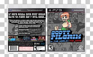 Scott Pilgrim Vs. The World: The Game Xbox 360 PlayStation 3 Graphic Design PNG