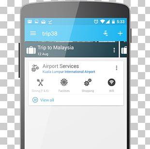 Smartphone Home Page Splash Screen Web Design PNG