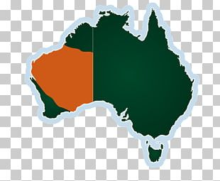 Flag Of Australia Map PNG