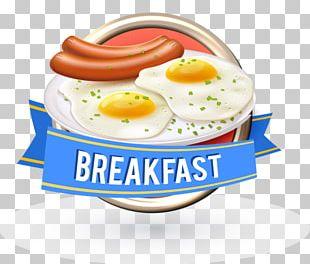 Hamburger Coffee Breakfast Fast Food PNG