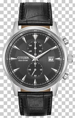 Eco-Drive Citizen Holdings Watch Strap Chronograph PNG