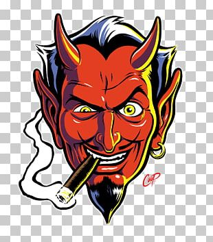 Devil's Advocate: The Art Of Coop Sticker Decal Poster PNG