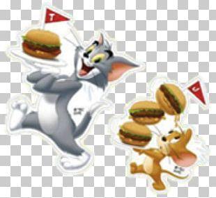 Tom And Jerry McDonald's Happy Meal Food Hamburger PNG