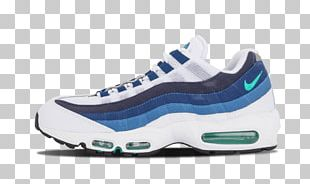 Shoe Blue White Sneakers Nike PNG