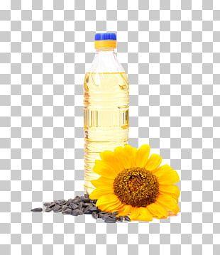 Sunflower Oil Vegetable Oil Common Sunflower PNG