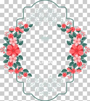 Lace Flowers Elements PNG