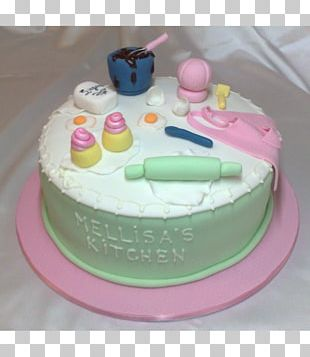Birthday Cake Buttercream Torte Cake Decorating Frosting & Icing PNG