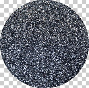 Glitter Silver Pewter Color Blue PNG