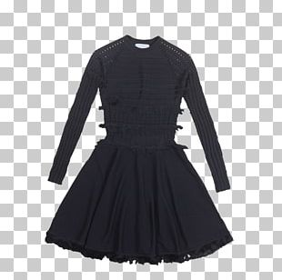 Cocktail Dress Clothing Little Black Dress Sleeve PNG