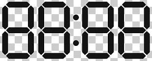 Digital Clock Alarm Clocks Display Device Electronics PNG