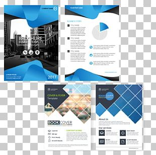Brochure Book Cover Flyer Page Layout PNG