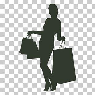 Shopping Black Friday Woman PNG