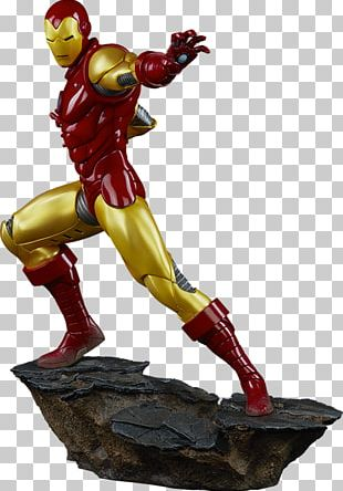 The Iron Man Sideshow Collectibles Superhero Marvel Comics PNG