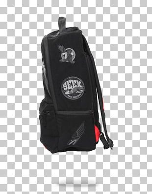 Bag Backpack Shark Sprayground Mini Embroidered Patch PNG