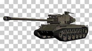 Churchill Tank Self-propelled Artillery Gun Turret Ranged Weapon PNG