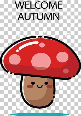 Autumn Mushroom PNG