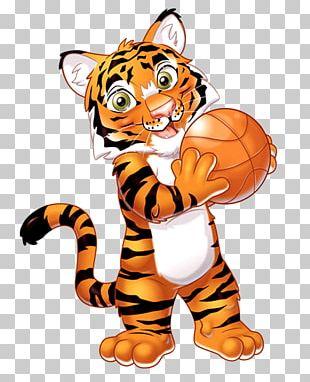 Tiger Lion Garanimals PNG