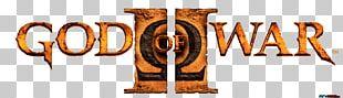 God Of War II God Of War: Betrayal PlayStation 2 Font PNG