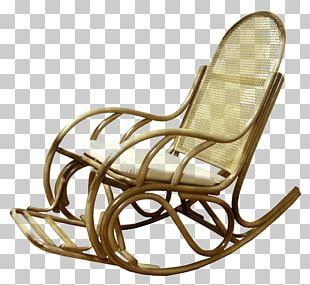 Rocking Chairs Garden Furniture Wing Chair PNG