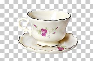 Teacup Coffee Cup Porcelain Mug PNG
