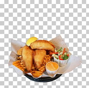 French Fries Fish And Chips Fried Chicken Full Breakfast Fast Food PNG