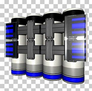 Cylinder Font PNG