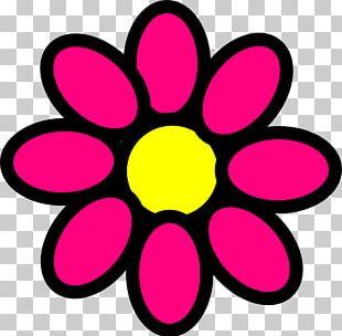 Plant Stem Pink Flowers PNG