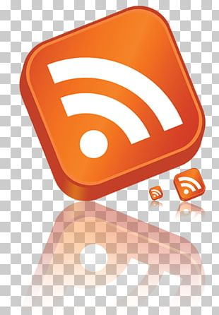 RSS Blog Web Feed PNG
