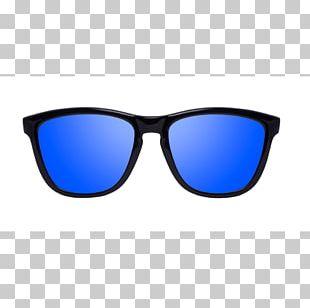 Eyewear Sunglasses Cobalt Blue PNG