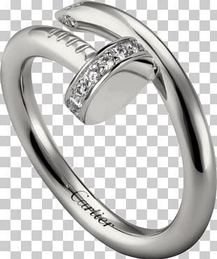 Cartier Jewellery Colored Gold Diamond Ring PNG