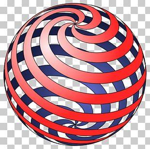 Spiral Sphere Ball PNG