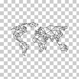 World Map Paper Masking Tape PNG