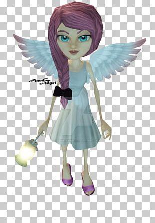 Fairy Cartoon Figurine Angel M PNG