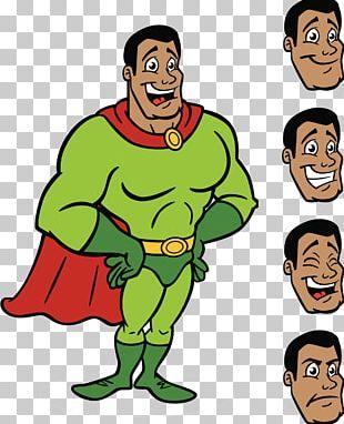 Superman Superhero Comics Cartoon Illustration PNG