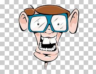 Horn-rimmed Glasses Nerd Geek PNG
