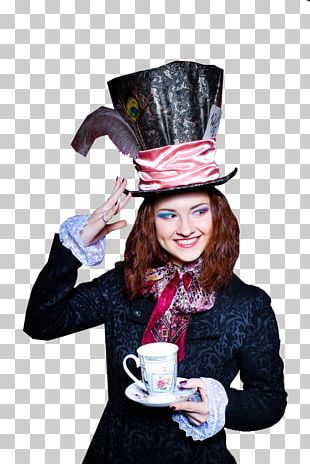 Mad Hatter Costume PNG