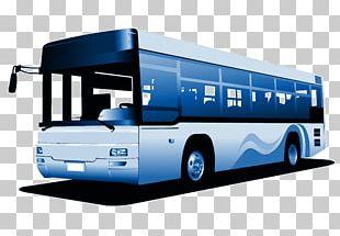 Public Transport Bus Service Car Ticket PNG