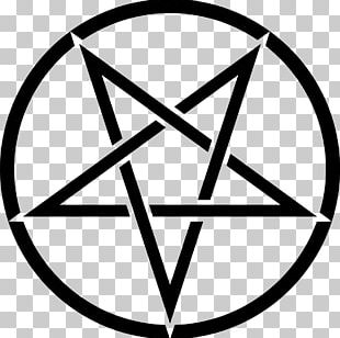 Pentagram Church Of Satan Pentacle Sigil Of Baphomet Satanism PNG