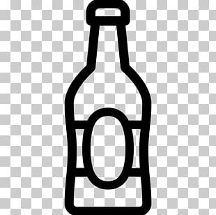 Beer Bottle Wine Beer Glasses PNG