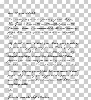 Letter New Year's Day Wedding Invitation Paper PNG
