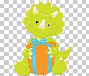 Stegosaurus Dinosaur Birthday Cupcake Baby Shower PNG