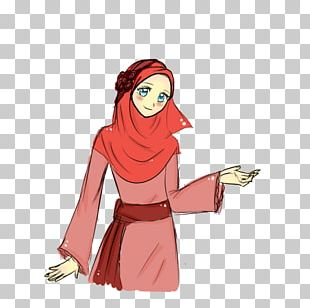 Muslim Islam Hijab Cartoon PNG