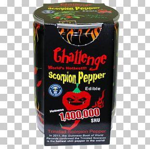 Trinidad Scorpion Butch T Pepper Capsicum Annuum Trinidad Moruga Scorpion Scoville Unit Bhut Jolokia PNG