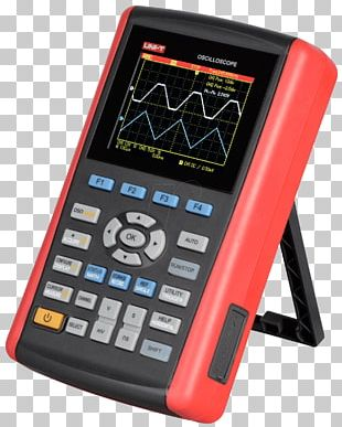 Digital Storage Oscilloscope Multimeter Measuring Instrument Digital Signal PNG
